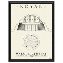 Affiche Eglise Royan vendue sans cadre