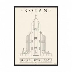 Affiche Eglise Royan